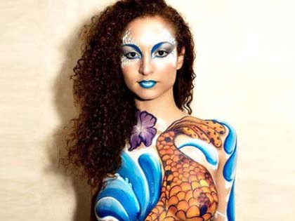 12 Examples of Breathtaking Body Painting Art That Will Leave You Speechless