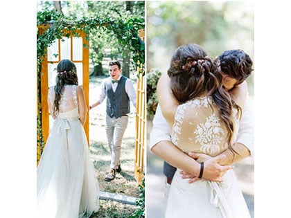 20 Priceless Wedding First Looks