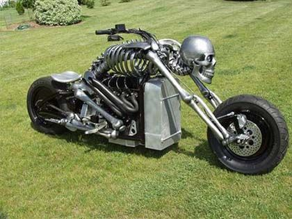21 Most Ridiculous Motorcycles Ever