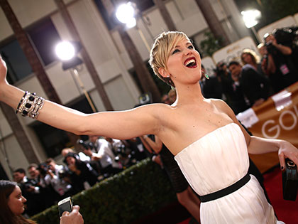 A Look at J.Law's Endearing Goofy Moments Before Mother! Premier