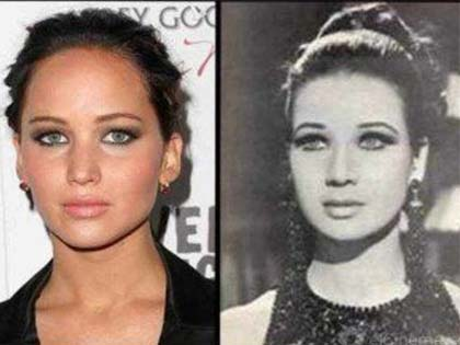 25 Celebrity Doppelgangers From The Past That Will Surprise You