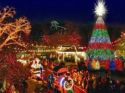 Top 10 U.S. Towns With Huge Christmas Celebrations