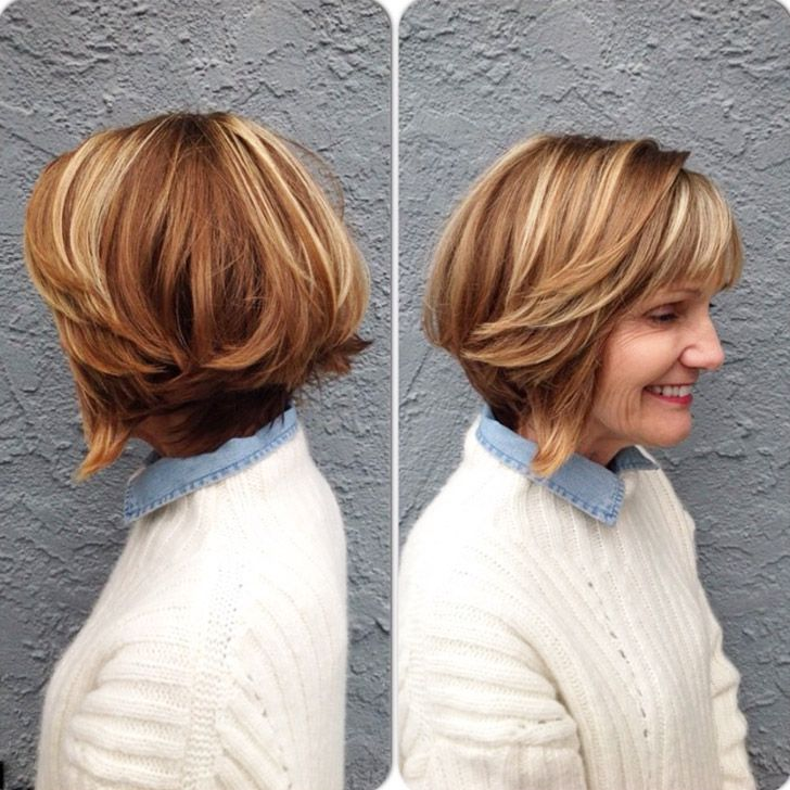 20 Best Short Hairstyles For Women Over 60_38