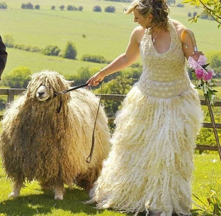 20 Most Creative Wedding Dresses You've Ever Seen_4