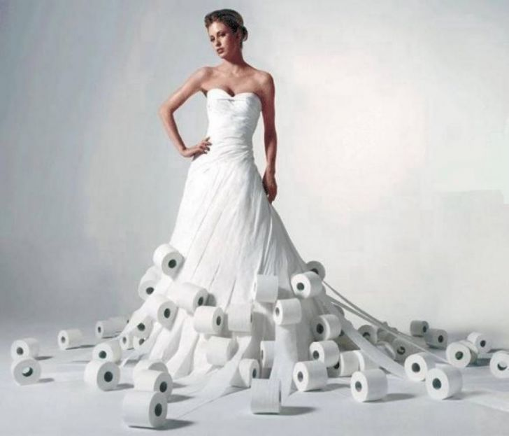 20 Most Creative Wedding Dresses You've Ever Seen_8