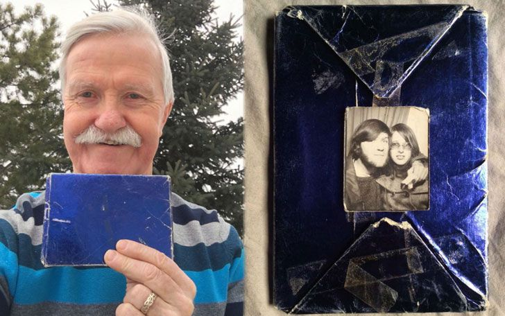 Man Kept Ex's Christmas Gift Unopened For 47 Years, Then He Finds Out What's Inside_1