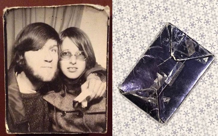 Man Kept Ex's Christmas Gift Unopened For 47 Years, Then He Finds Out What's Inside_3