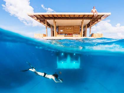 10 Of The World's Most Extraordinary Underwater Hotels