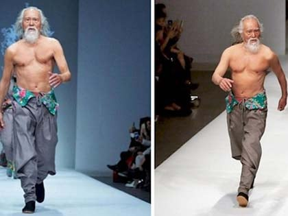 80-Year-Old Grandpa Tries Modeling For The First Time And Rewrites The Rules of Aging