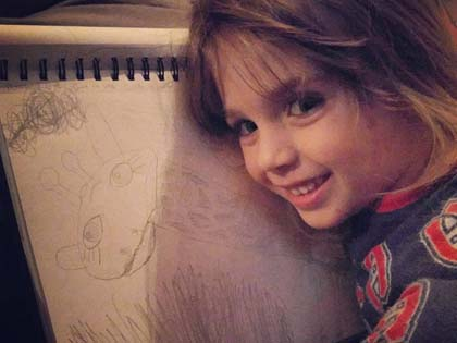 An Artist Mom Who Makes Masterpieces Out Of Her 2 Year Old Daughter's Doodles
