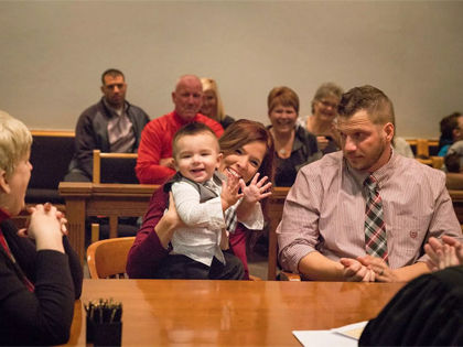 What This Toddler Said At His Adoption Hearing Brought Everyone To Tears